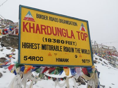 Khardung La: It is the world's highest motorable pass.