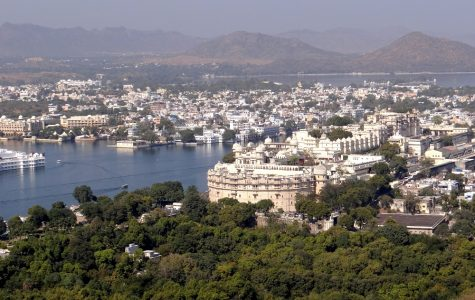 "City of Udaipur also know as ""Venice of the East"" lies in southern slopes of Aravali Mountains"