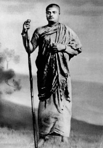 Swamiji while living life of Monk and travellig through India. Image Source: Wikipedia.org