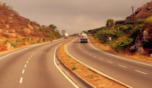 NH 4 constitutes roughly 90% of the Golden Quadrilateral's Mumbai-Chennai segment