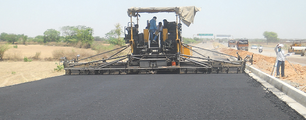 Major task of Golden Quadrilateral was to expand roads to four and six lanes.