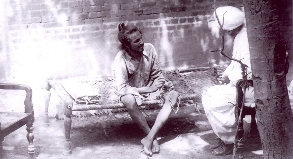 A secret photo of Bhagat Singh was taken when he was imprisoned in Lahore Central Jail.