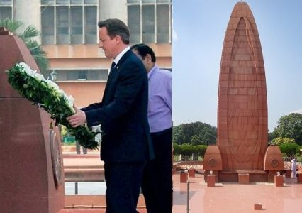 "David Cameron (U.k Prime Minister) described the Amritsar massacre as ""a deeply shameful event in British history. But he didn't delivered an official apology."