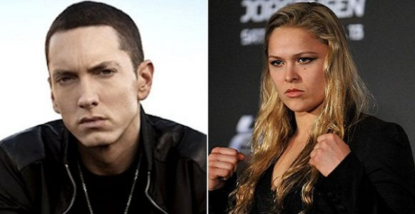 Eminem and Ronda Rousey