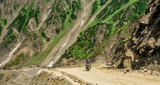 Motorcycling in Nubra Valley
