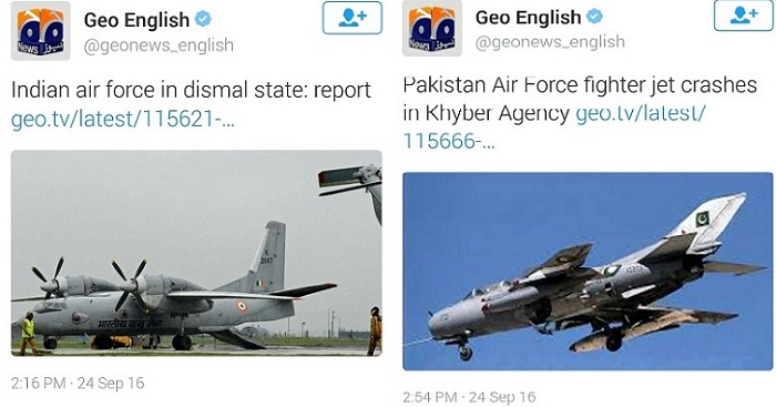 Comparison of India and Pakistan Airforce