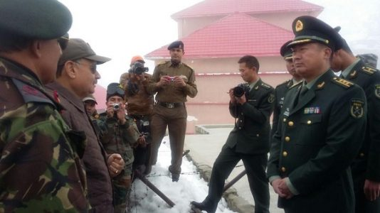 Present Day India-China Border remains calm ignoring few army mobilization and heated talks.