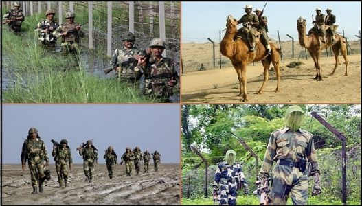 Border Security Force Partoling on Indian Border