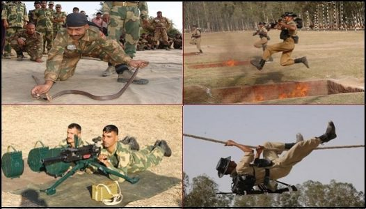 Training of Border Security force
