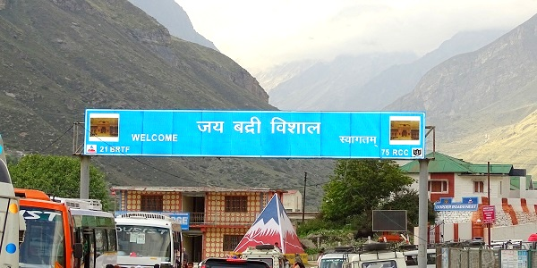 road trip to Badrinath temple
