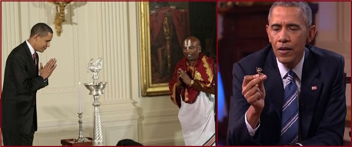 Barak Obama and Deewali