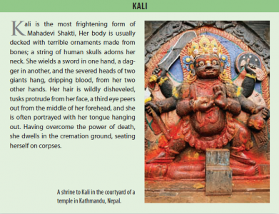 Goddess Kali is Most Destructive Manifestation of Goddess Parvati