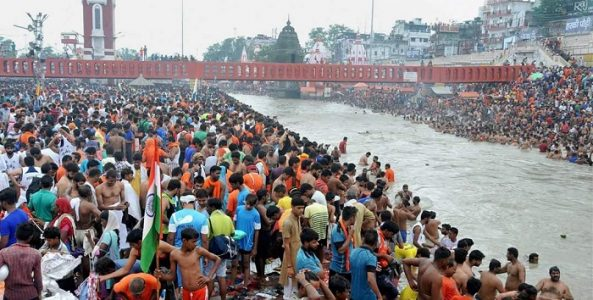 Kumbh Mela is World's Largest peaceful gathering.