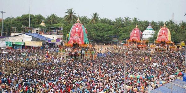 Jagannath Rath Yatra is the largest Rath Yatra in the world.
