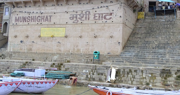 Ghats of Varanasi and Munshi Ghat