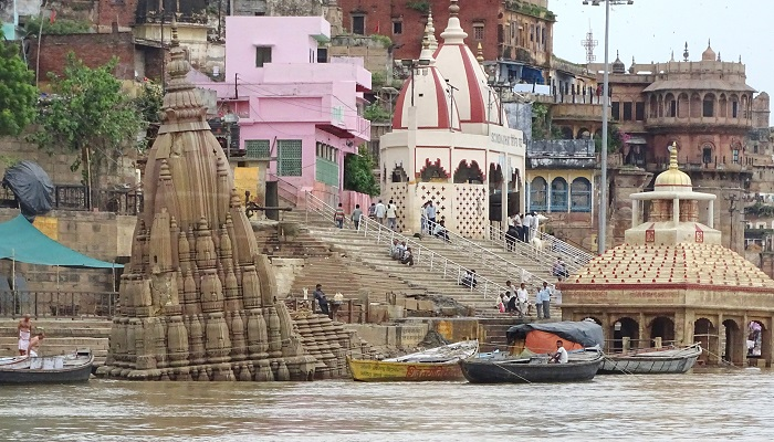 Ghats of Varanasi and Scindia Ghat