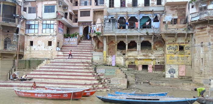 Ghats of Varanasi and Chausatthi Ghat