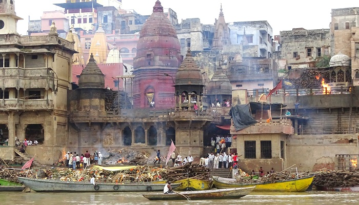 Ghats of Varanasi and Manikarnika Ghat