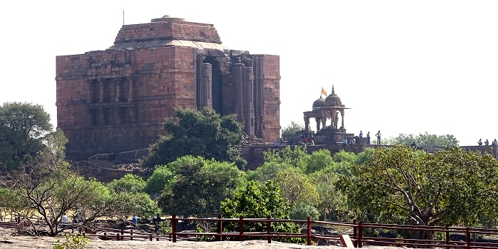 Full Image of Bhojeshwar Temple Bhojpur