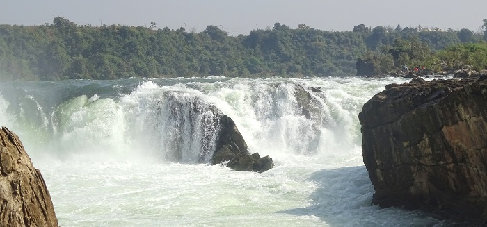 Dhuandhar Waterfall on Narmada River in Jabalpur