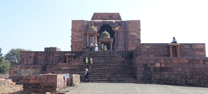 Front Side of Bhojeshwar Temple