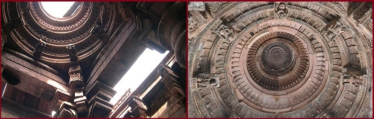 Ceiling of Bhojeshwara Temple Bhojpur