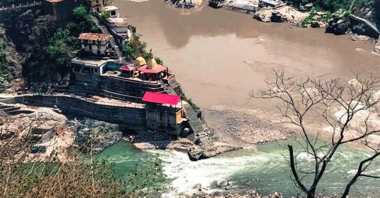 Rudraprayag: Confluence of Alaknanda River and Mandakini River