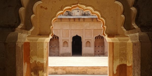 Symmetrical construction of Forts of Orchha
