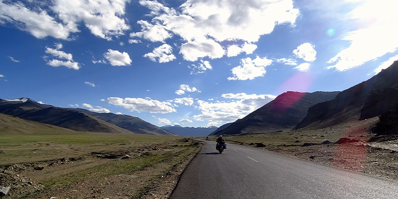 Manali-Leh Highway is the most common route used by travelers to reach the Leh City. The highway is 490Km long and operational for 5 months in a year.