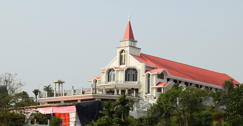Fiangpui Presbyterian Church In Haflong