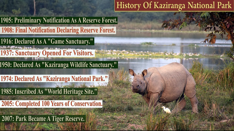 History of Kaziranga National Park