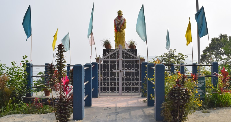 Statue of Rani Maa Gaidinliue In Haflong