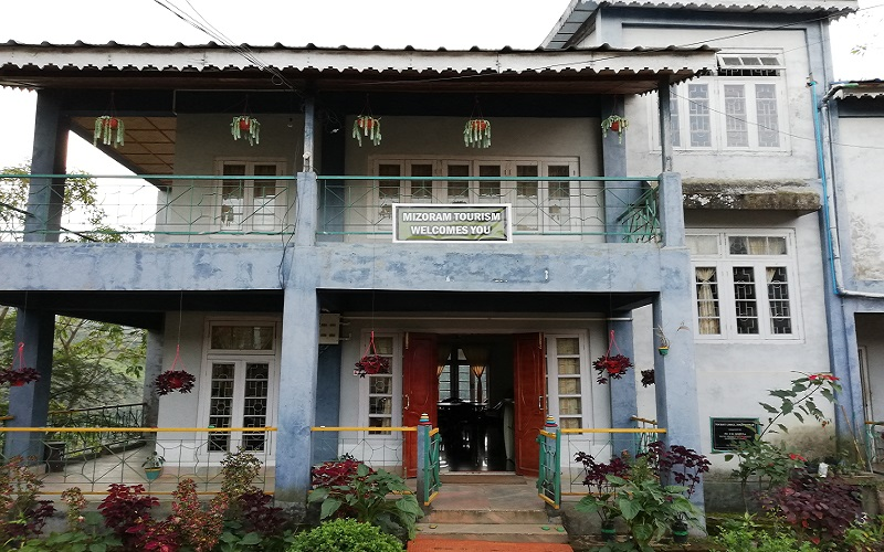Mizoram Government Tourist Lodge in Zokhawthar