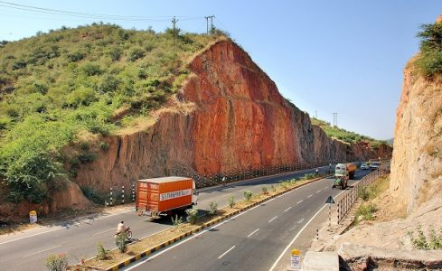 Udaipur Chittorgarh section of Golden Quadrilateral. Source: indiandefence.com
