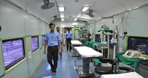 The lifeline express has medically served over 900,000 people, conducted more than 100,000 surgeries in the remotest rural parts of the country.