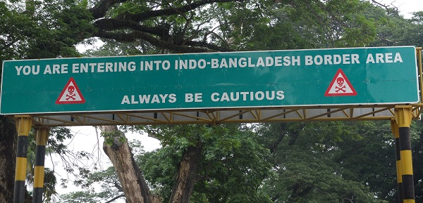 India-Bangladesh Border (4,096 Km) is the fifth-longest land border in the world.