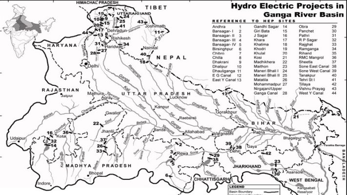 Dams and Ganges River Pollution