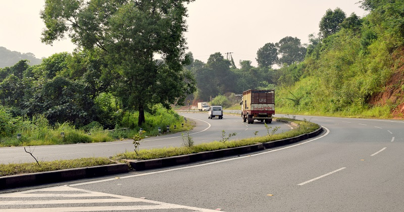 Guwahati-Shillong Highway Also Known As the National Highway 6