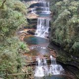Wei-Saw Dong Waterfall Is one of the most scenic waterfall in Meghalaya