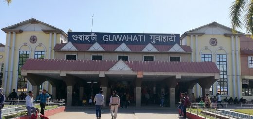 Entrance Gate of Guwahati Railway Station