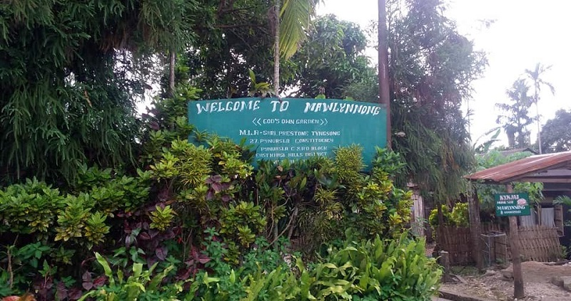 Mawlynnong Village holds the record of cleanest village in Asia