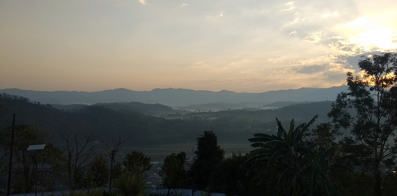 Hills of Dima Hasao District on Maibang Haflong Highway
