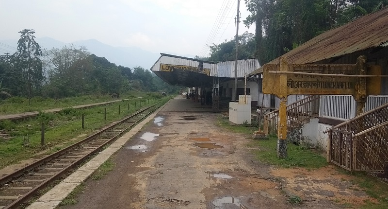 Lower Haflong Railway Station Also Known As The MG Station In Haflong