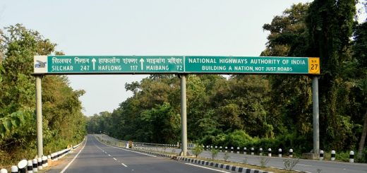 Lumding Maibang Haflong Highway in Assam