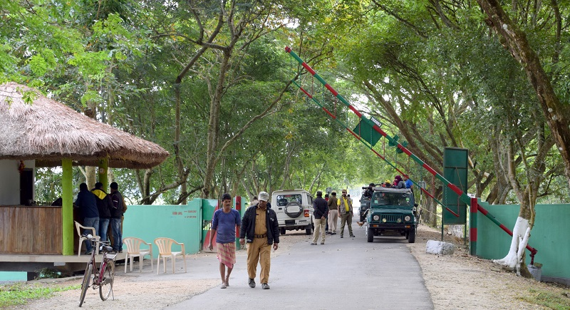 Mihimukh is the main gate of Kohora and the starting point of jeep safari in Central Range