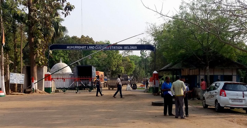 Belonia On India Bangladesh Border in Tripura