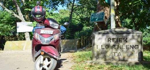 Bike Ride To Reiek Mountain In Mizoram