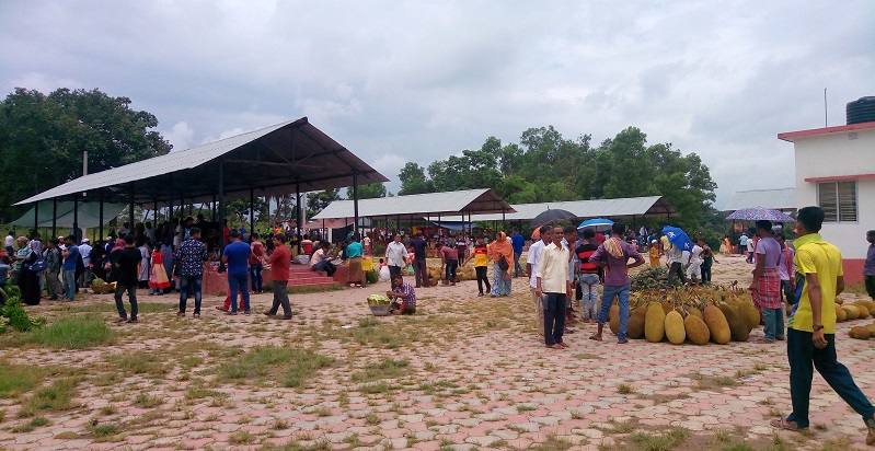 Border Haat At Kamlasagar IN Tripura.