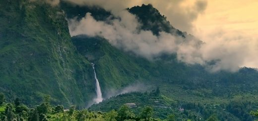 Birthi Waterfall In Uttrakhand