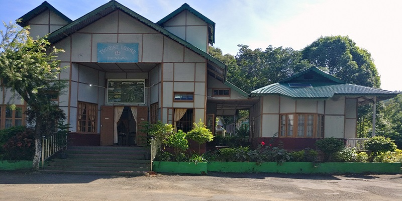 Mizoram Government Tourist Lodge In Thenzawl